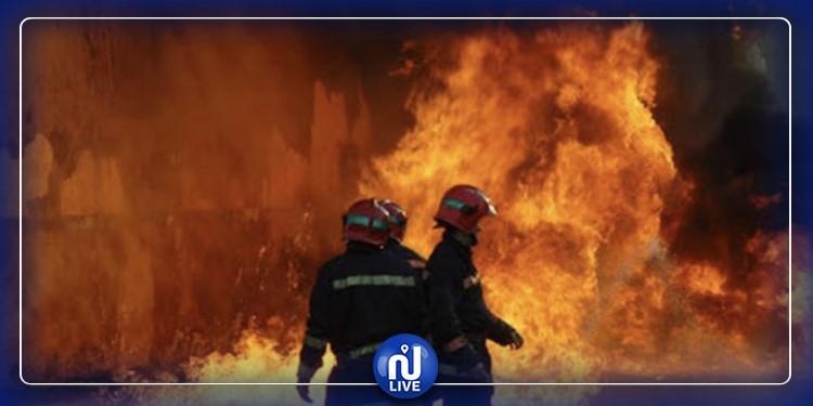 Sousse : Incendie à la station de pompage de l'office national de l'assainissement