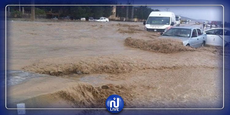 استئناف مشاريع صيانة وجهر وتدعيم منشآت حماية المدن من الفيضانات