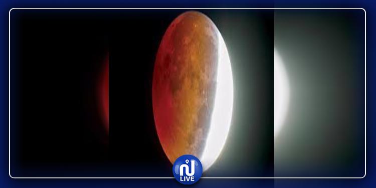 اليوم:  خسوف شبه ظل جزئي للقمر