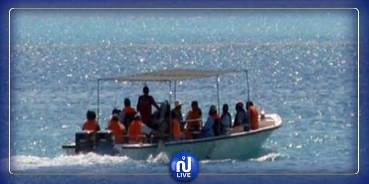 نابل: اعتراض زورق في عرض البحر و إيقاف كل من فيه