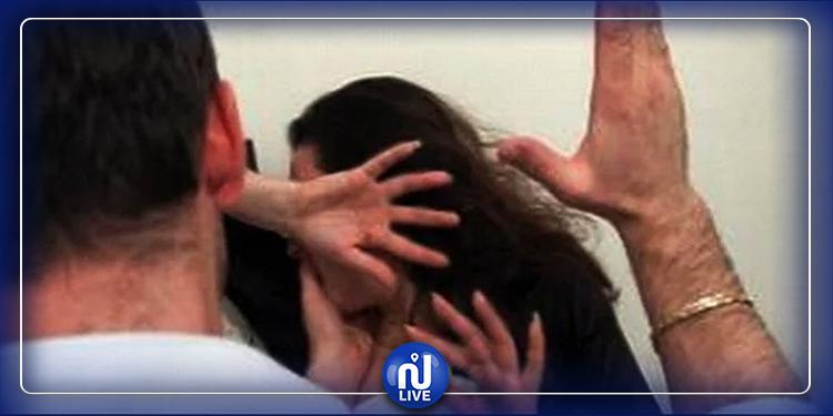 غابت ملامح وجهها..رجل في السبيخة يعنّف زوجته الحامل