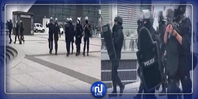 فرنسا: اخلاء  فضاء تجاري بعد الاشتباه بوجود عنصر مسلح (فيديو)