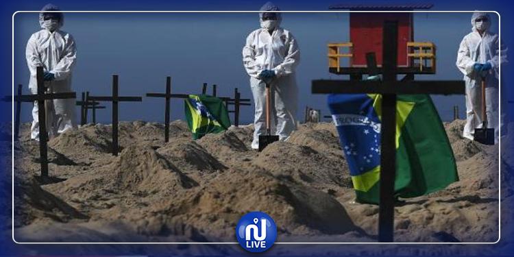 البرازيل: نبش القبور لإخلاء مساحة لضحايا وباء كورونا