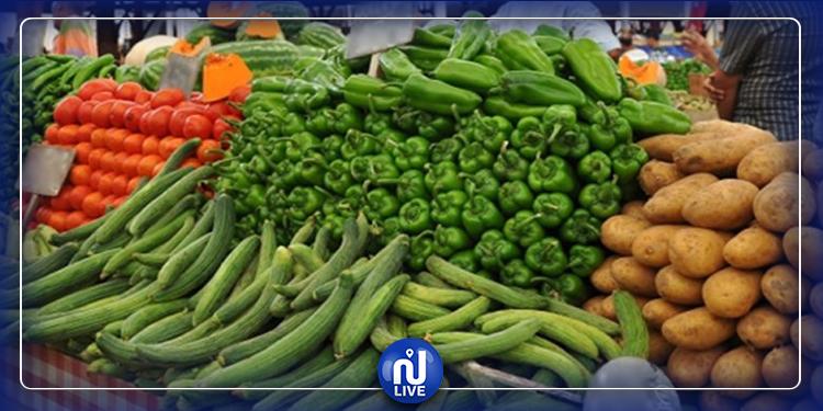وزارة التجارة: تراجع معدل إجمالي أسعار الخضر