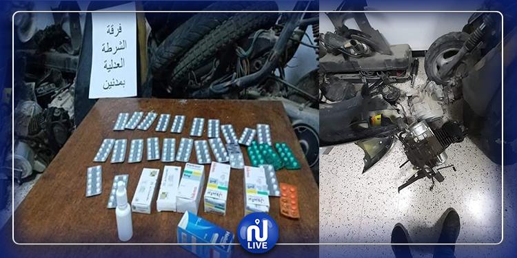 مدنين: إلقاء القبض على مروّج للأقراص المخدّرة