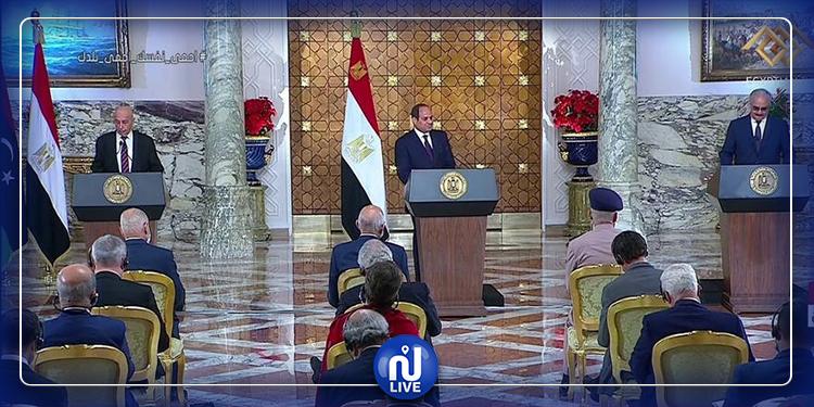 السيسي يعلن عن مبادرة سياسية لإنهاء الصراع في ليبيا (فيديو)