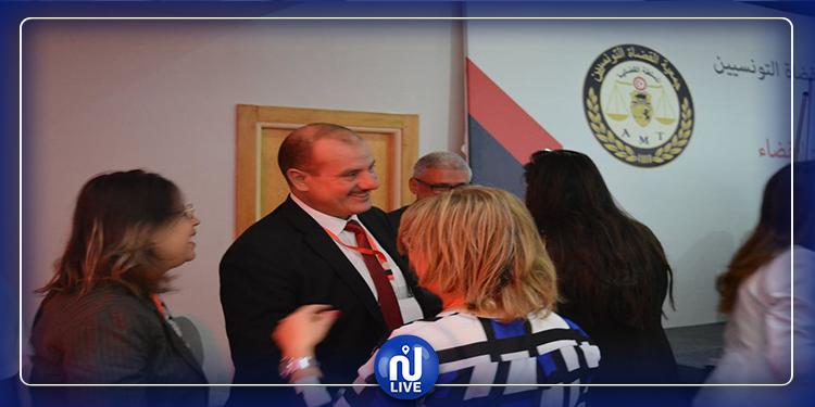 جمعية القضاة التونسيين تجدد الثقة في أنس الحمادي