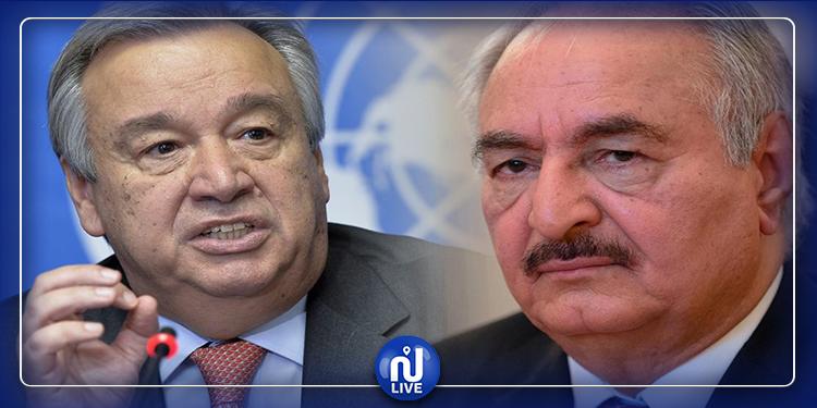 غوتيريس: لا يوجد حل عسكري للصراع في ليبيا