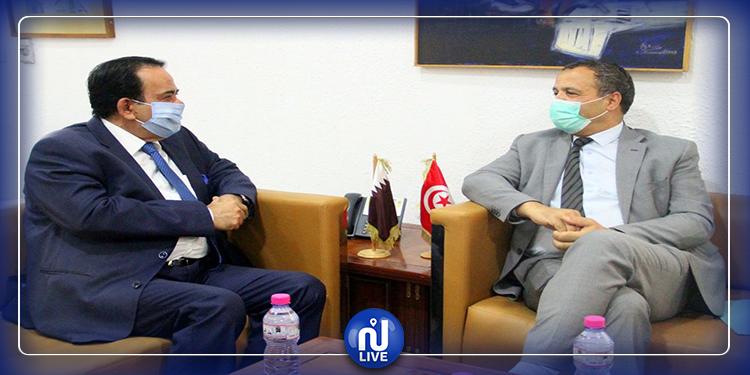 دعم التعاون بين تونس وقطر في  المجال الصحّي