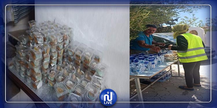تطاوين : توزيع المرطبات و وسائل الوقاية في أول أيام البكالوريا