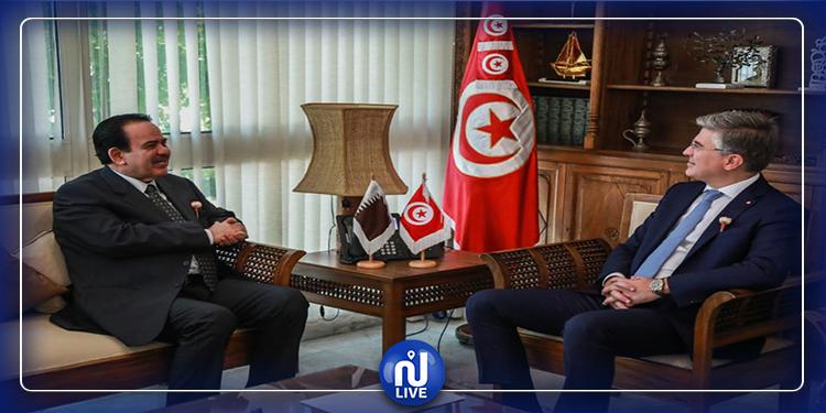 وزير السياحة يدعو السفير البلجيكي إلى فتح حدود بلاده مع تونس