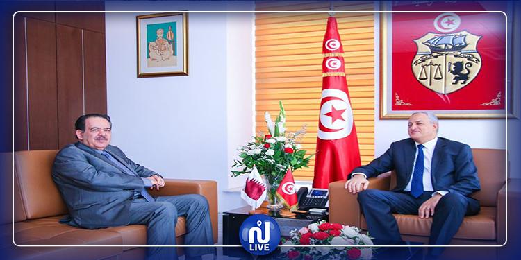 قطر حريصة على دعم برنامج التحوّل الرقمي في تونس