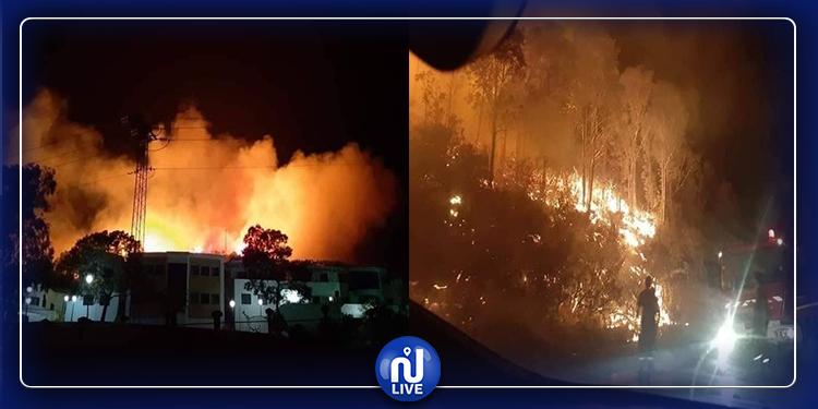 جندوبة: 3 حرائق متزامنة والحماية المدنية مرابطة لمنع انتشار النيران