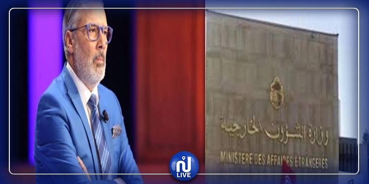 برهان بسيس ينتقد غياب بيان تضامني من وزارة الشؤون الخارجية التونسية مع لبنان !