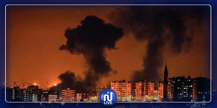 الجيش الصهيوني يقصف مواقع في غزة