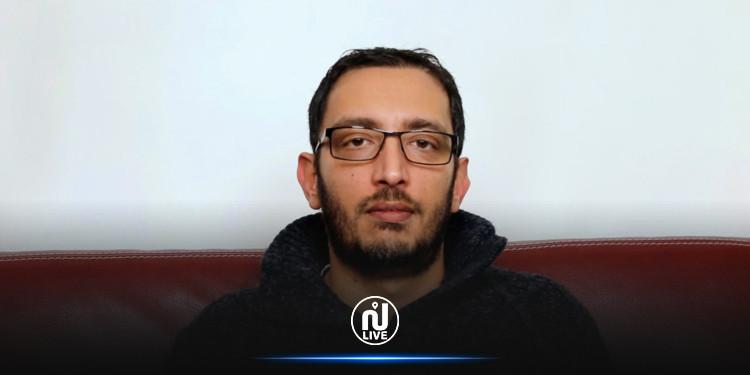 ياسين العياري يعلن عن نتيجة تحليله لفيروس كورونا
