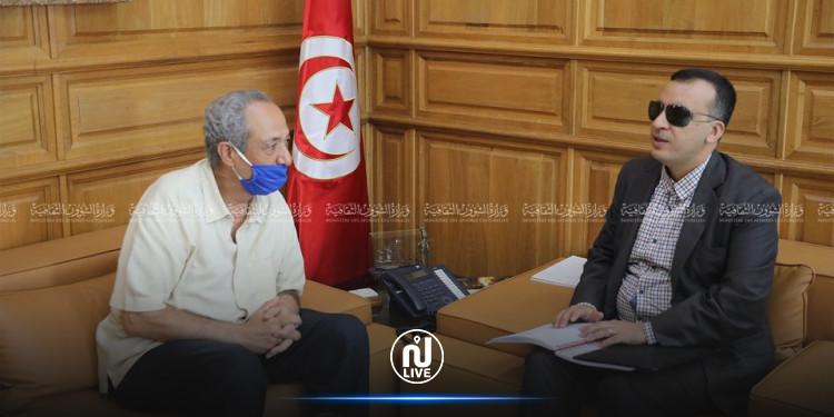 بن يغلان يلتقي وزير الثقافة لتقديم 'الانتفاضة الشعرية'