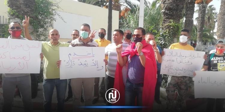 جندوبة: احتجاجات للمطالبة بتحسين الوضع الصّحي بعد ارتفاع اصابات كورونا