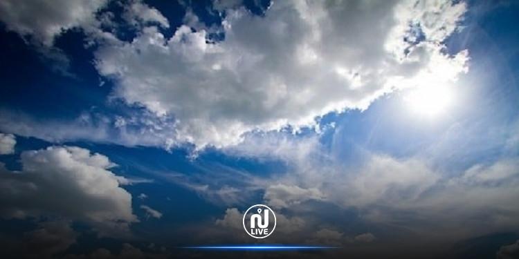 الطقس: أجواء قليلة السحب إلى مغيمة أخر النهار