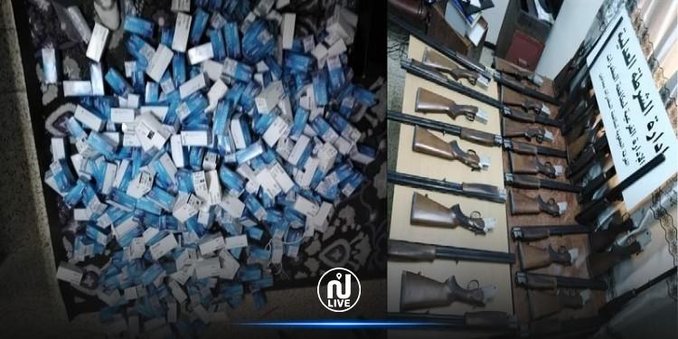 مدنين: ضبط شبكة إجرامية خطيرة مختصة في تهريب الأسلحة و المخدرات