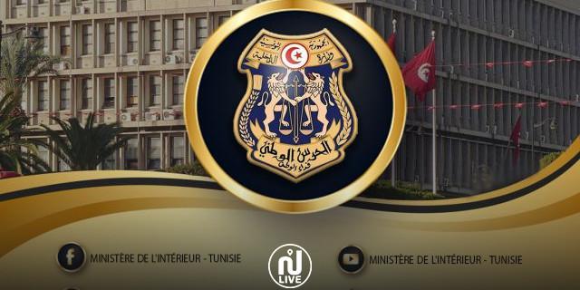 حصيلة الحملات الأمنية بكامل تراب تونس