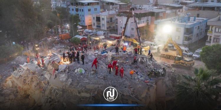 تركيا: مواصلة انتشال العالقين تحت أنقاض زلزال ايجة