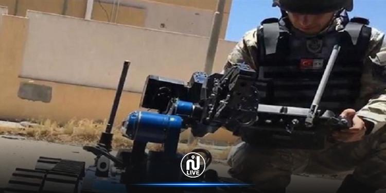 روبوت تركي لإجلاء الجرحى (فيديو)