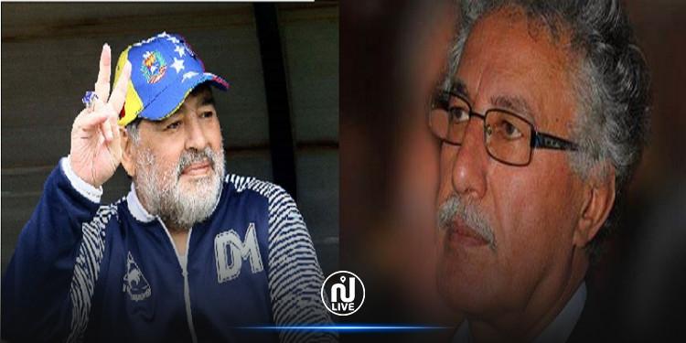 حمة الهمامي يرثي مارادونا: رحل فلسطينيّ القلب