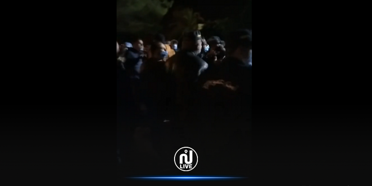 اعتصام في ساحة المستشفى الجهوي بجندوبة