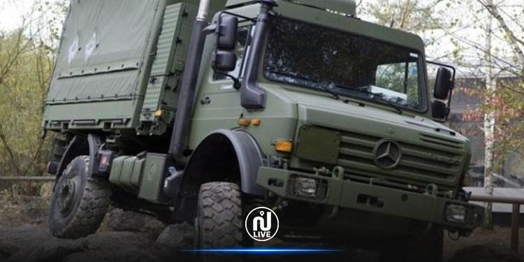مطماطة: اصابة 3 جنود خلال  انزلاق  شاحنتهم  العسكرية في منحدر عميق