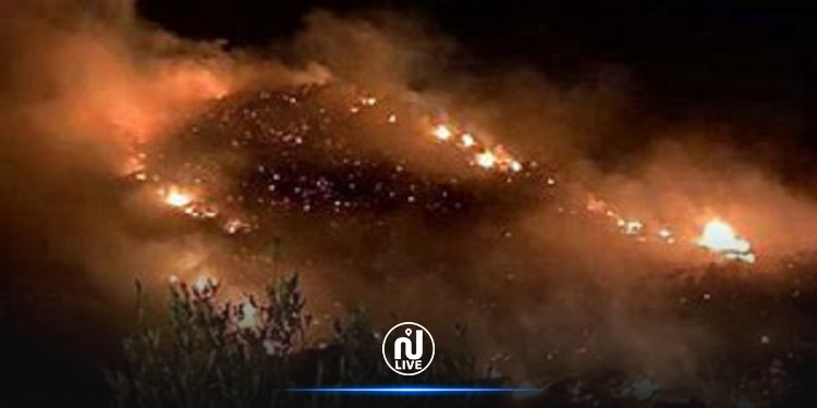 نابل: حريق في بناية مهجورة قرب المدرسة الابتدائية ابن خلدون