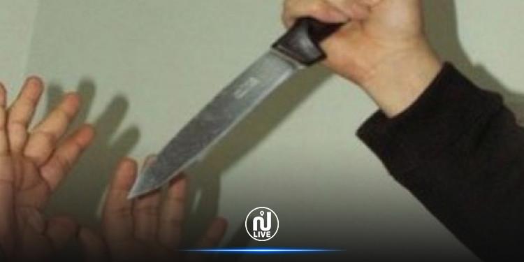 جرجيس:  طعن زوجته بسكين وأودى بحياتها