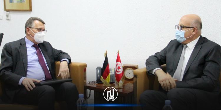 دعم التعاون بین تونس وألمانیا لتوفیر لقاح كوفید 19