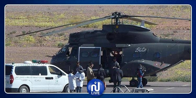 وفاة عسكريين في تحطم مروحية تابعة للجيش المغربي
