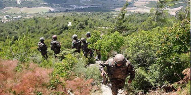 جبل سمامة: إصابة جندي في انفجار لغم ارضي