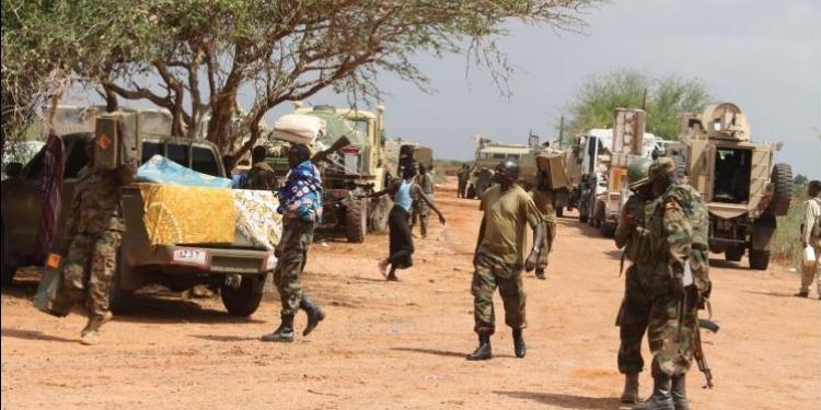 استهداف قاعدة للاتحاد الإفريقي في الصومال