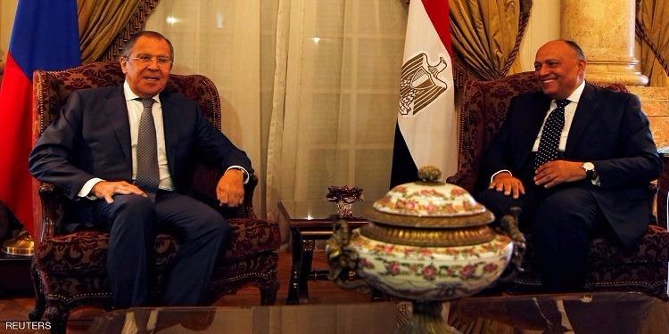 لافروف : التعاون بين مصر وروسيا لا غنى عنه للتصدي للإرهاب