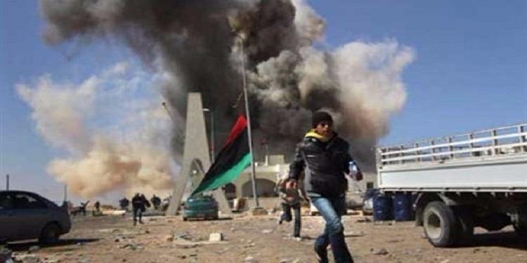 سقوط قذيفتين في بنغازي الليبية يخلف سقوط جرحى