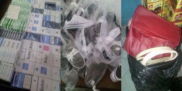صفاقس: ضبط محل لتخزين الدخان والملابس والأحذية المهربة (صور)