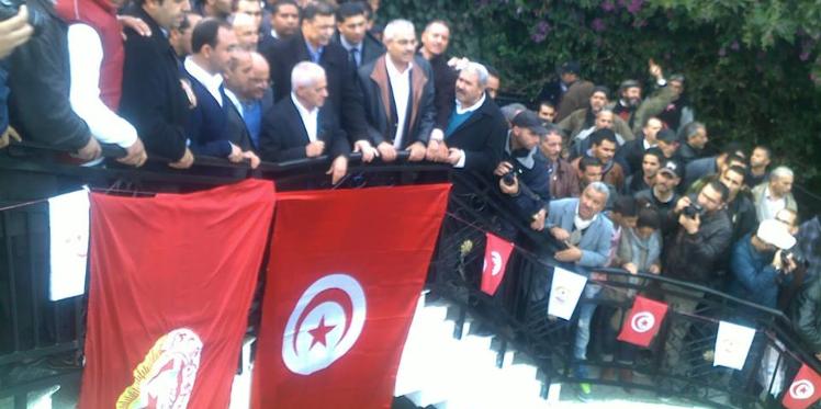 النقابيون في مسيرة الوفاء لحشّاد