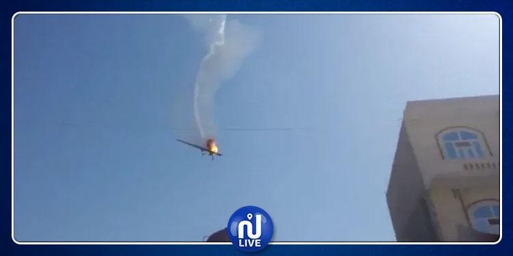 Yémen: Un raid aérien spectaculaire par un drone…(vidéo)