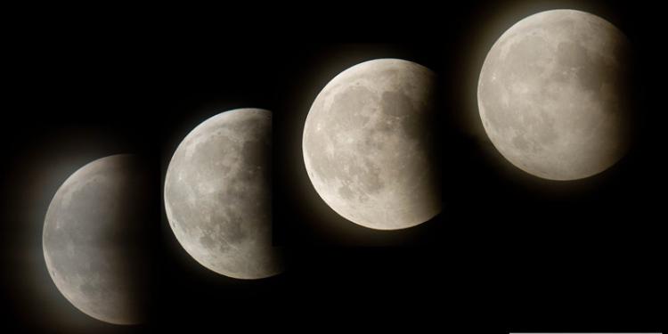 خسوف كلي للقمر يوم 28 سبتمبر 2015