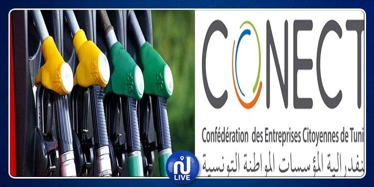 Prix des carburants: la CONECT alerte sur l'impact sur l'Economie