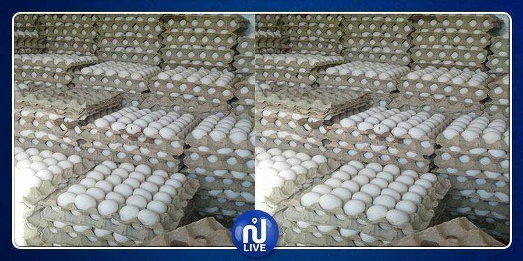 زغوان: حجز 13 ألف بيضة و2870 علبة سجائر و1850 لتر من البنزين