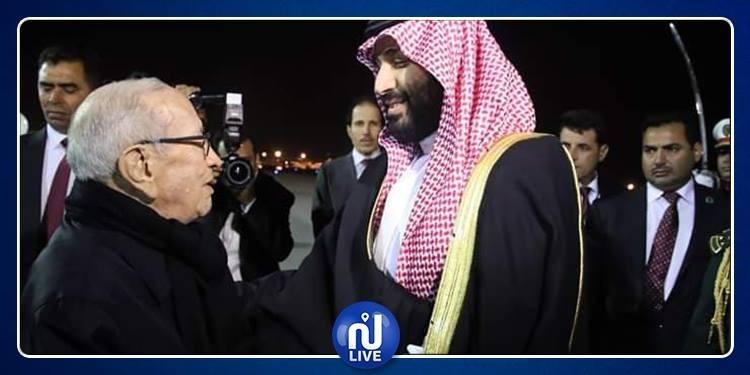 ولي العهد السعودي: الباجي قائد السبسي بمثابة والدي (فيديو)