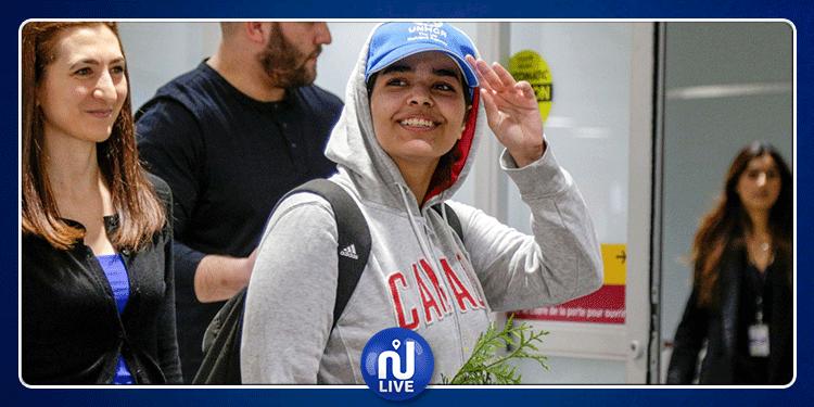 الفتاة رهف تصل ''بلدها الجديد'' كندا بعد هروبها من السعودية