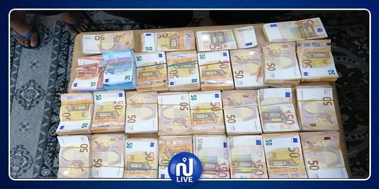 بن قردان: حجز مبلغ من العملة الأجنبية المهربة ناهز 2 مليون دينار