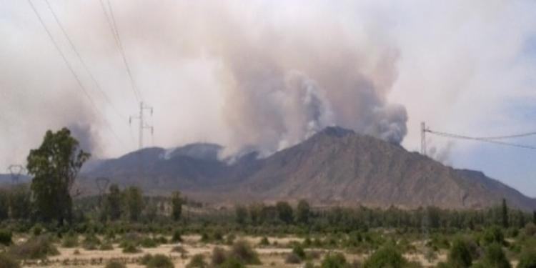 قصف مرتفعات جبال ورغي بولاية الكاف