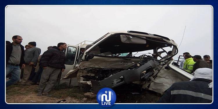 فريانة: إرتفاع حصيلة ضحايا حادث اصطدام حافلة بسيارة(صور)