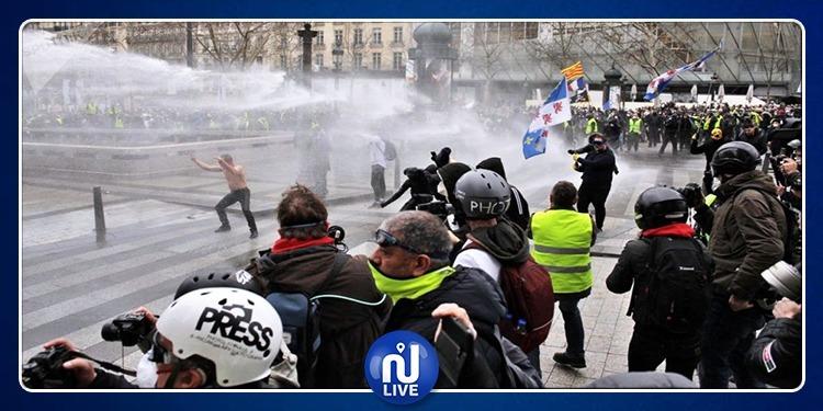 فرنسا.. إيقاف عشرات الأشخاص خلال تظاهرة عيد العمال